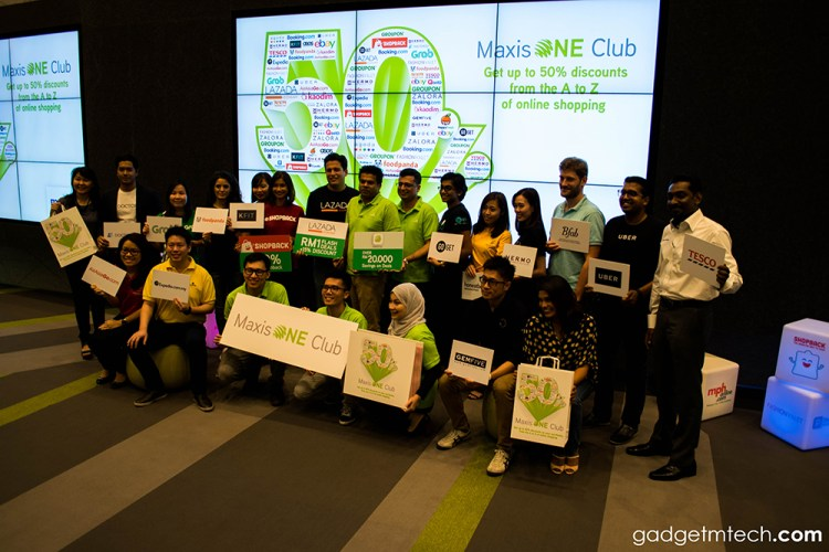 MaxisONE Club members can now enjoy up to 50% discounts on over 500 e-commerce sites