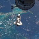 thumbs space shuttle era ends with at