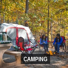 Accommodations and Camping   Department Of Natural Resources Division Primitive camping is available at a number of our Wildlife Management  Areas  Public Fishing Areas  and most State Parks  Check the individual  location page