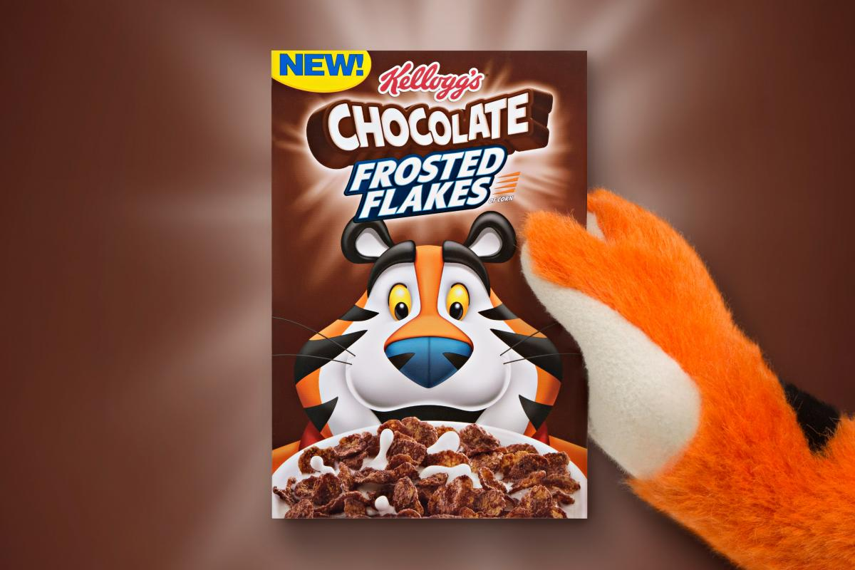 Unique Chocolate Frosted Flakes Will Soon Be Here Cmo Strategy Ad Age Frosted Flakes Tiger Images Frosted Flakes Tiger Y Re nice food Frosted Flakes Tiger