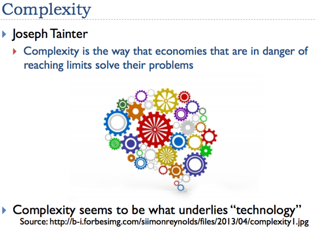 Slide 6. Complexity introduction