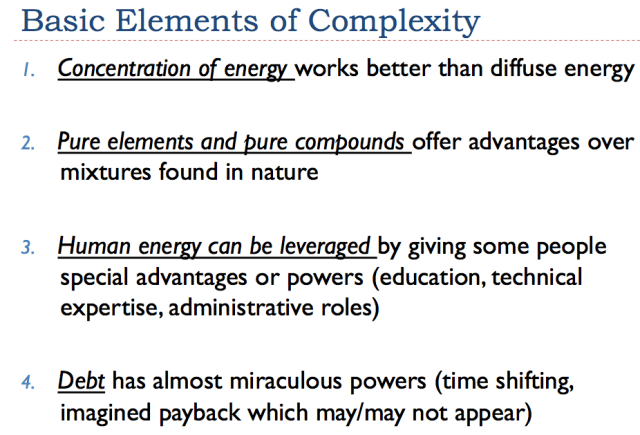 Slide 7. Basic Elements of Complexity