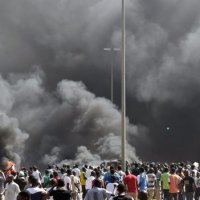 Burkina Faso parliament set ablaze as protesters stormed building