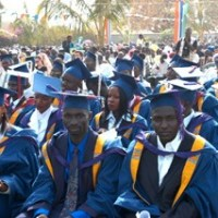 University of the Gambia students protest against grading system, tuition fees increment