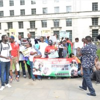 UK protesters renew call for travel ban on Jammeh and Gambian officials