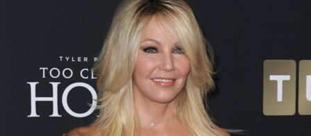 Heather Locklear  Melrose Place  intern    e en psychiatrie apr    s une     Heather Locklear  Melrose Place  intern    e en psychiatrie apr    s une grosse  crise
