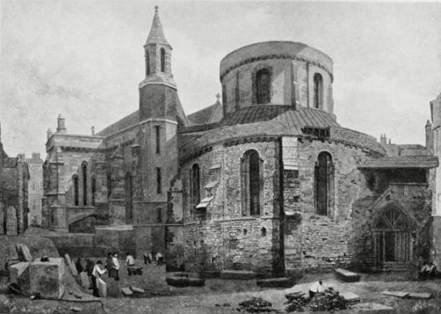 temple church - london