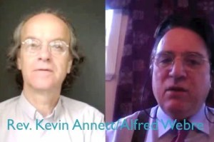 Rev Kevin Annett and Alfred Webre 300x199 Breaking Interview With Kevin Annett Covering Internet Black Ops and Alfred Weber 12.16.14