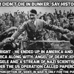 Hitler DID escape Germany in 1945: Staggering new claims point to huge Nazi cover-up