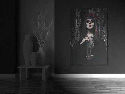 Catrina- Gothic Wall Art by Galen Valle