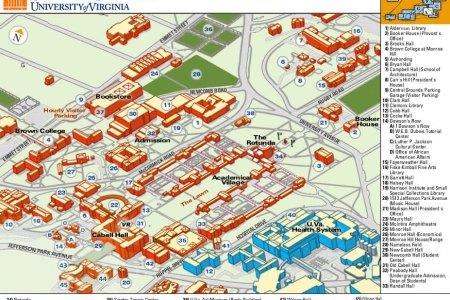 Map Of Uva Campus - Uva map