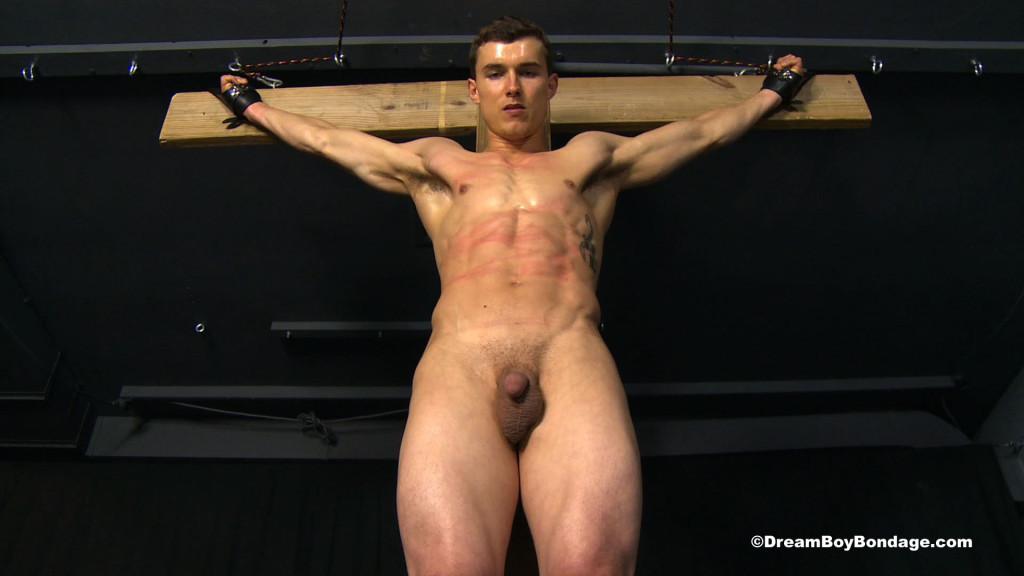 nude male crucifixion
