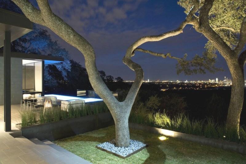 Резиденция с великолепным панорамным видом в Техасе