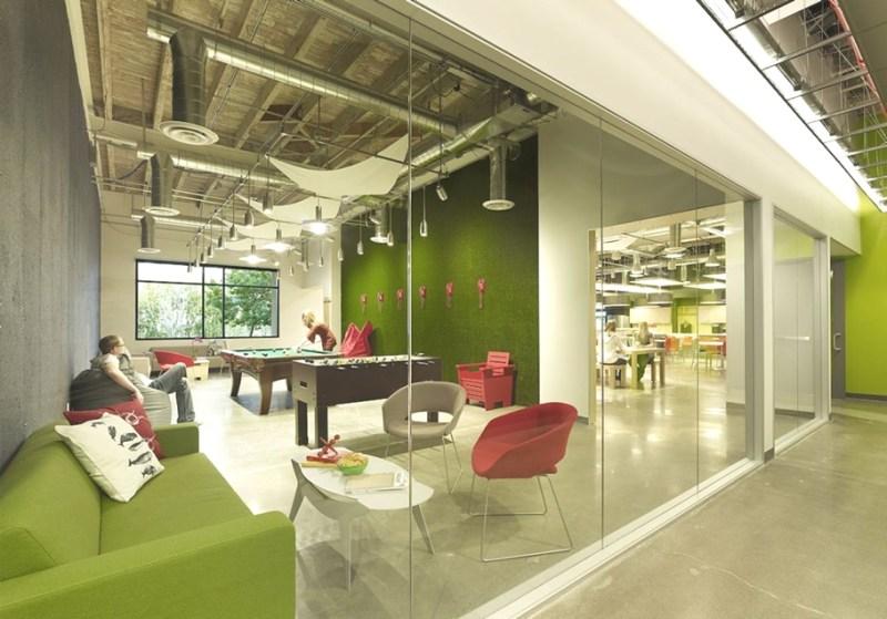 Дизайнерский интерьер офиса Skypeʹ North