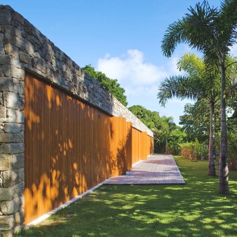 Дизайн дома в этническом стиле  в Бразилии