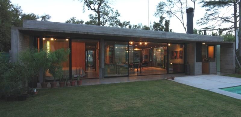 Семейный особняк Casa Ba в Аргентине