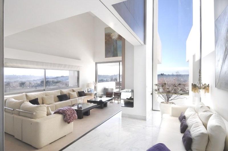 Роскошный дом Camarines от A-cero Architects в Мадриде