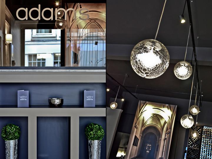 Дизайн ресторана Adam's, Бирмингем, Великобритания