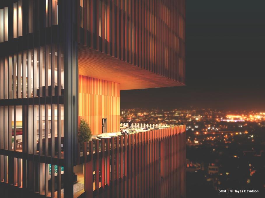 Небоскреб Manhattan Loft Gardens в Лондоне