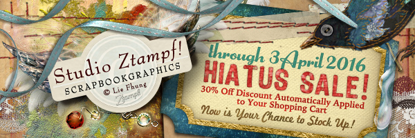 Ztampf! HIATUS SALE - 30% OFF through 3 April 2016