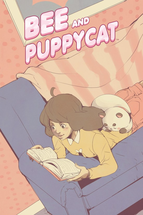 BEE AND PUPPYCAT #5 Cover A by Emily Hu