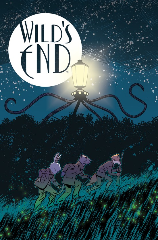 WILD'S END Cover A by I.N.J. Culbard
