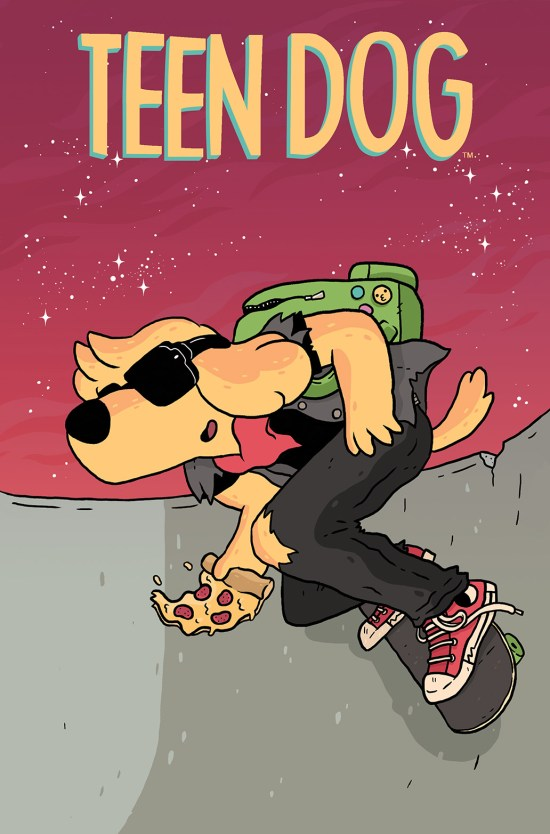 TEEN DOG #1 Cover A by Jake Lawrence