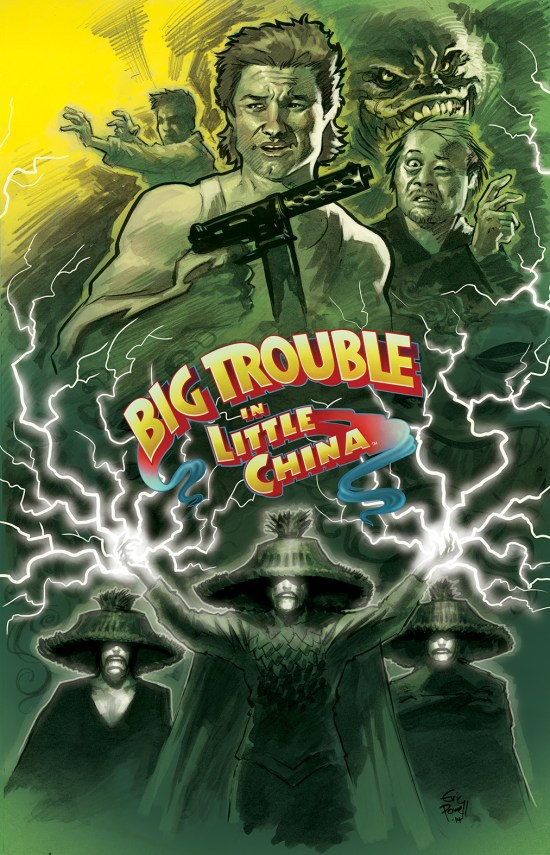 BIG TROUBLE IN LITTLE CHINA #4 Cover A by Eric Powell