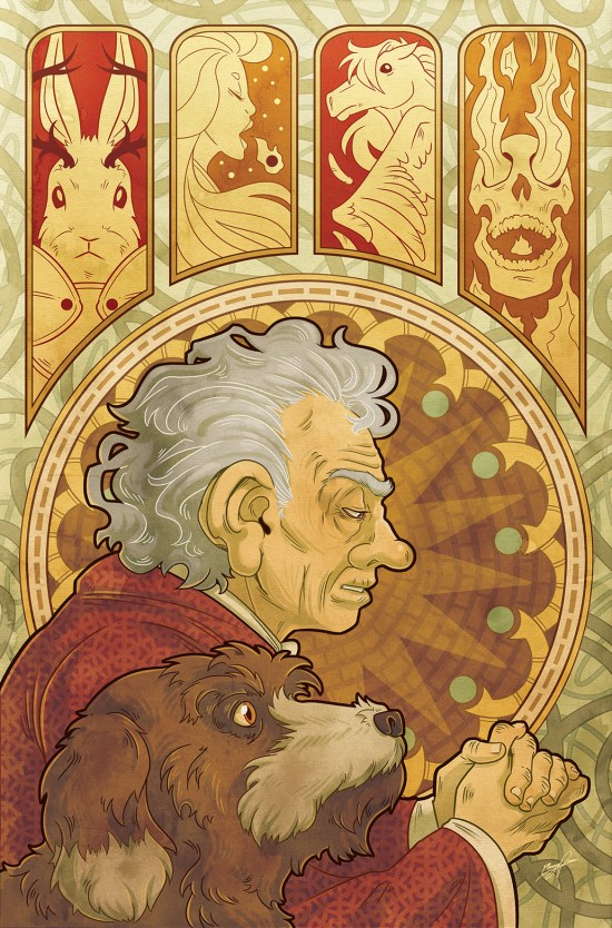 JIM HENSON'S THE STORYTELLER: WITCHES #1 Cover B by Missy Pena