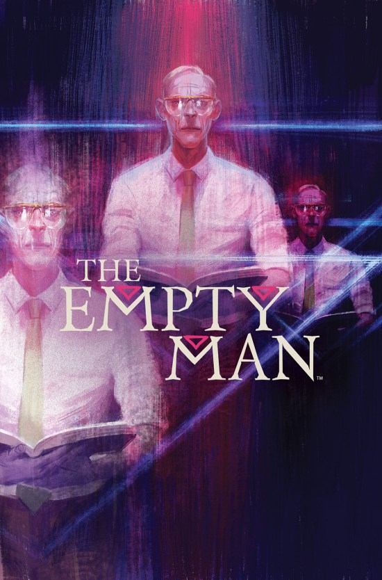THE EMPTY MAN #4 Cover by Vanesa R. Del Rey
