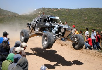 FOX Eugenio B500 FOX sweeps Trophy Truck podium at SCORE Baja 500