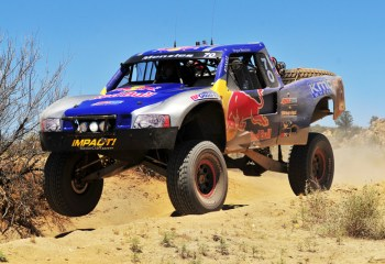FOX Menzies B500 FOX sweeps Trophy Truck podium at SCORE Baja 500