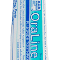 FREE Sample of OraLine Mint Toothpaste
