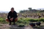 in front of the vinyard
