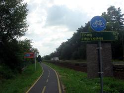 Lake Balaton bike path