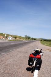 On the road in Kazakhstan