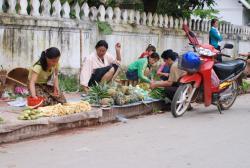 Street side market