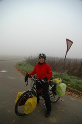 Heading out in the fog on Nov 7