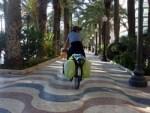 Riding through Alicante