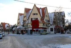 The bizarre town of Ifrane