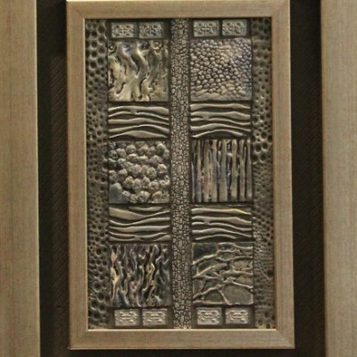 AME abstract framed artwork