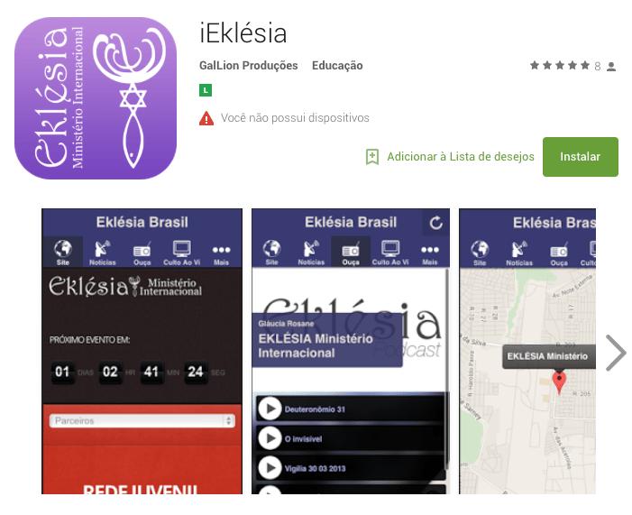 portfolio - App - iEklesia Android