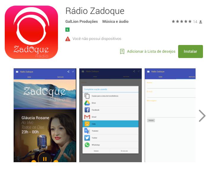 portfolio - App - rádio zadoque 2