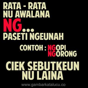 Dp Bbm Bahasa Sunda Gokil