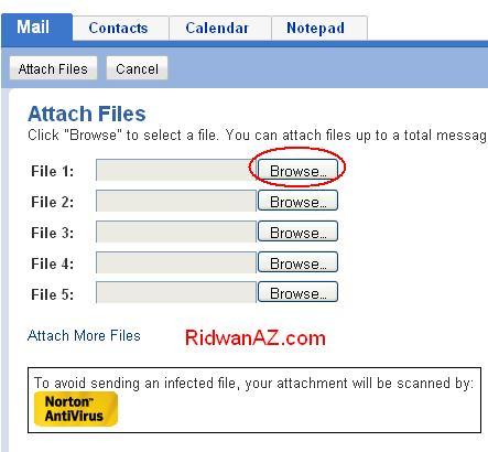 cara mengirim file atau data lewat email