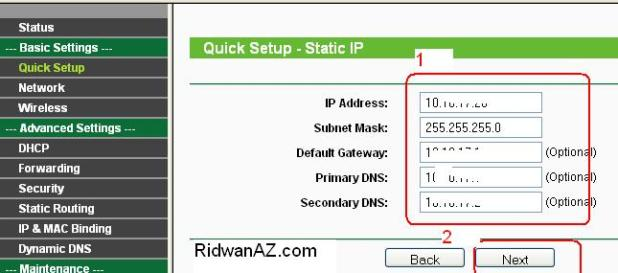 cara setting ap router - wireles router hotspot tp-link