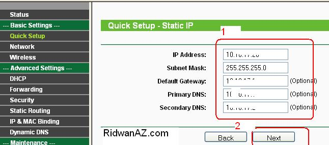 cara setting ap router - wireles router hotspot tp-link
