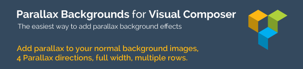 Video & Parallax Backgrounds For Visual Composer