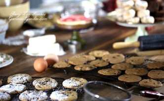 Crisp Thin Chocolate Chip Cookies