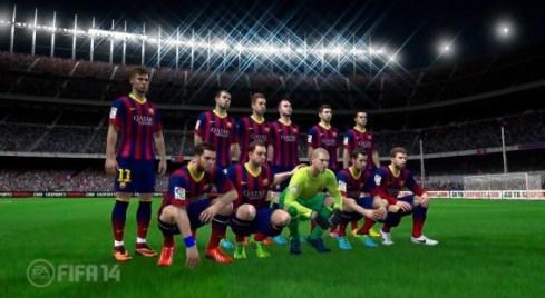 FIFA 14 giovani talenti - il barcellona in FIFA 14, una squadra quasi perfetta